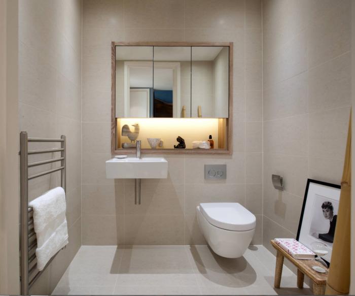 Такая современная сантехника идеально будет смотреться даже в небольшой ванной комнате.