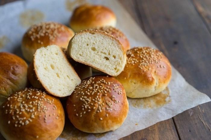 Булочки для гамбургеров. \ Фото: eda.ru.