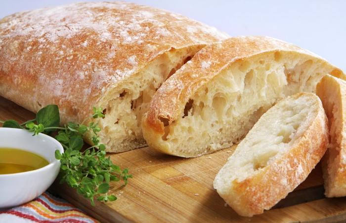 Итальянский хлеб. \ Фото:
