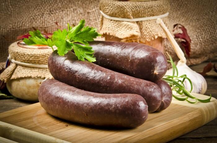 Колбаска свиная с гречкой. \ Фото: al.com.