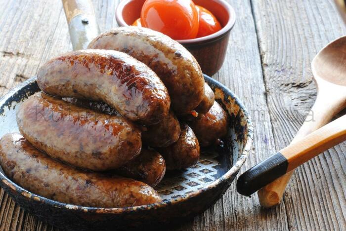 Домашние грибные колбаски. \ Фото: kuhnyadoma.com.ua.