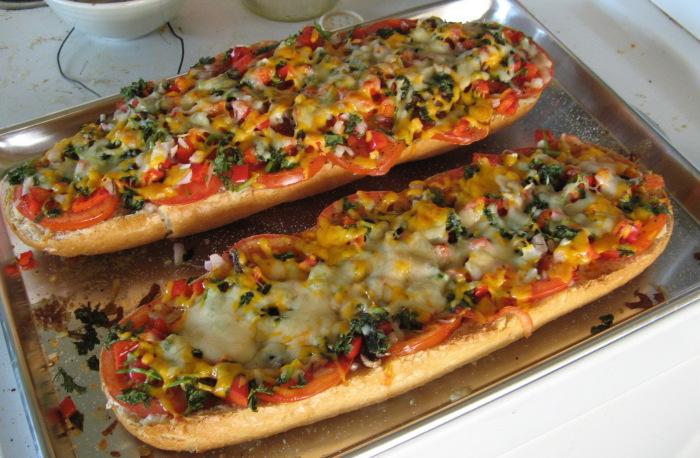 Ленивая пицца c фаршем. \ Фото: foodman.club.