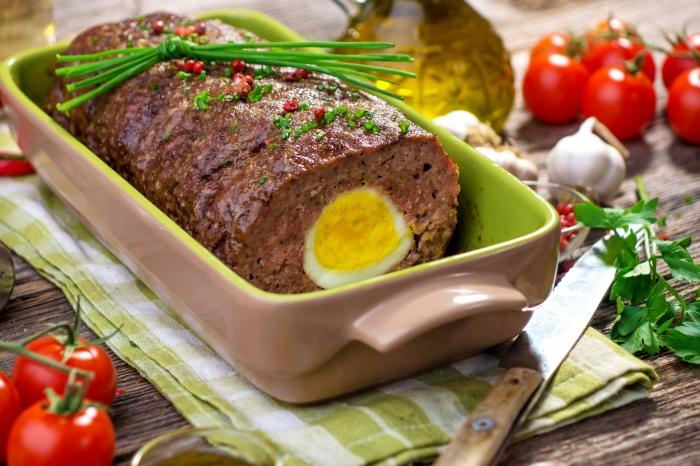Вкуснейший мясной рулет. \ Фото: wallbox.ru.