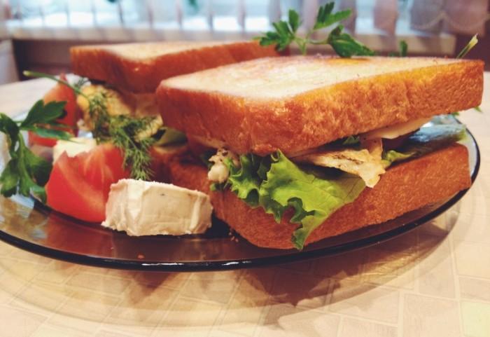 Сендвич с тунцом и фасолью. \ Фото: all-cook.com.