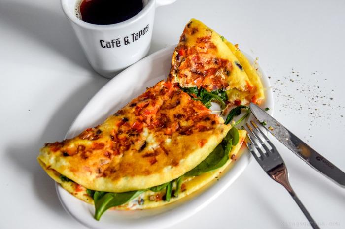 Овощной омлет со стручковой фасолью. \ Фото: happywaytravel.com.
