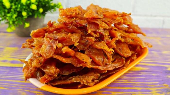 Куриные чипсы. \ Фото: ok.ru.