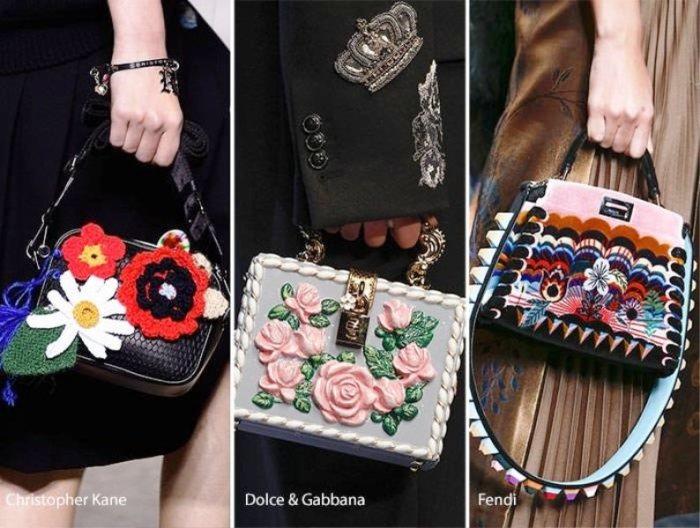 Модные сумки. \ Фото: 12millionov.com.