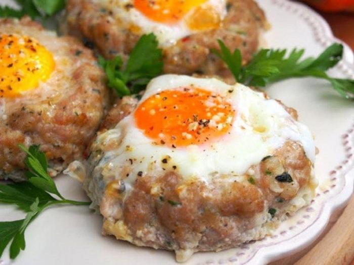Котлеты с яйцом. \ Фото: retete-usoare.info.