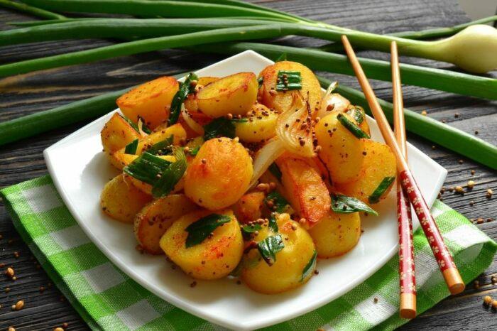 Картофель по-индийски. \ Фото: liveinternet.ru.