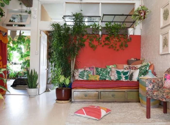 Комнатные растения в интерьере. Автор: Homestead Brooklyn.