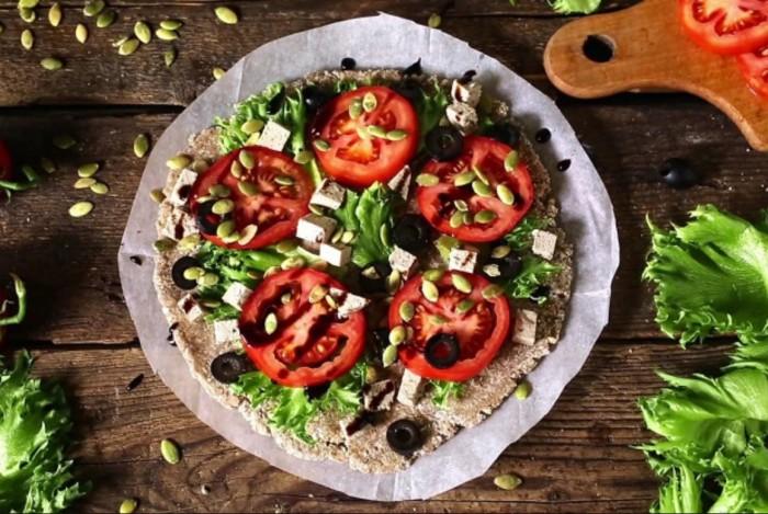 Оригинальная пицца с гречкой. \ Фото: img01.rl0.ru.