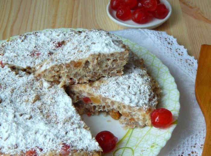 Гречневый пирог. \ Фото: gotovim-vkusno.net.