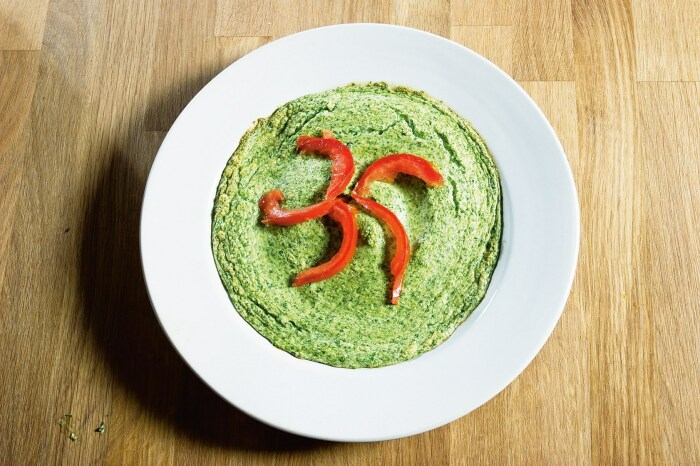Зелёное суфле. \ Фото: wowfood.club.