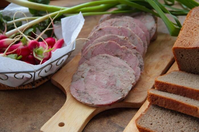Ветчина из говядины. \ Фото: livejournal.com.