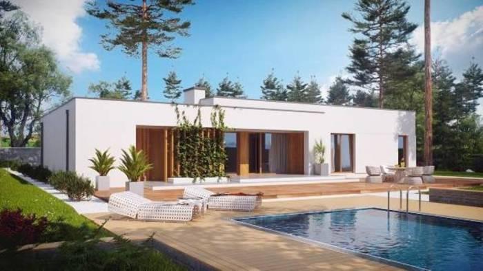 Проект каждого дома создаётся индивидуально, а значит, он может иметь любые формы, размеры и пропорции.
