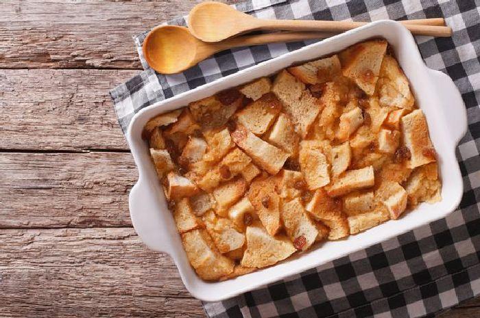 Хлебная запеканка. \ Фото: colourbox.com.