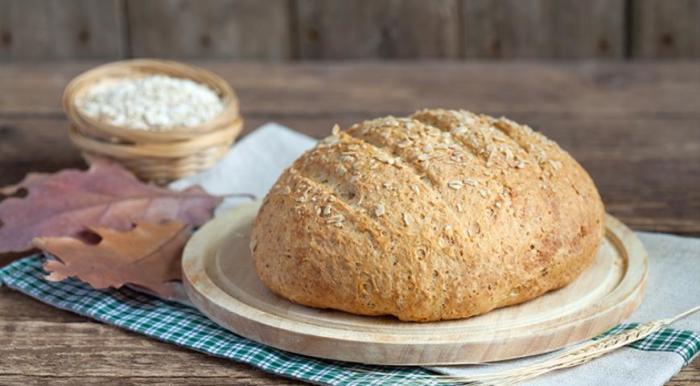 Вкусный и полезный овсяный хлеб. \ Фото: gastronom.ru.