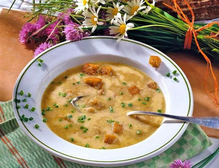 Очень вкусный хлебный суп. \ Фото: ru.sm.news.