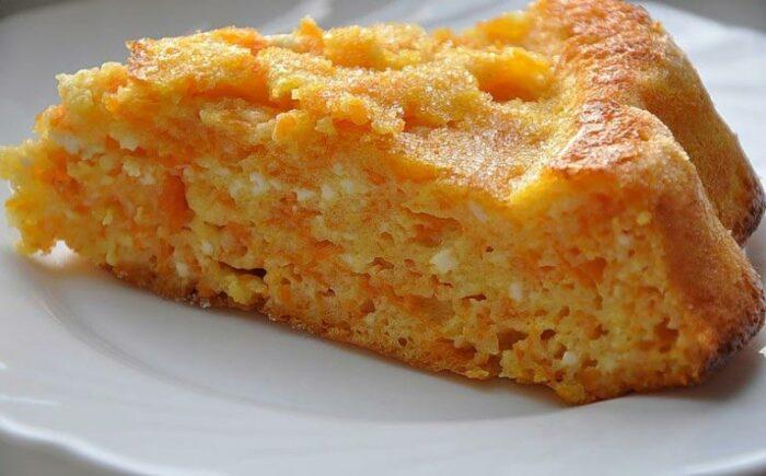 Запеканка из хлеба и моркови. \ Фото: google.com.ua.