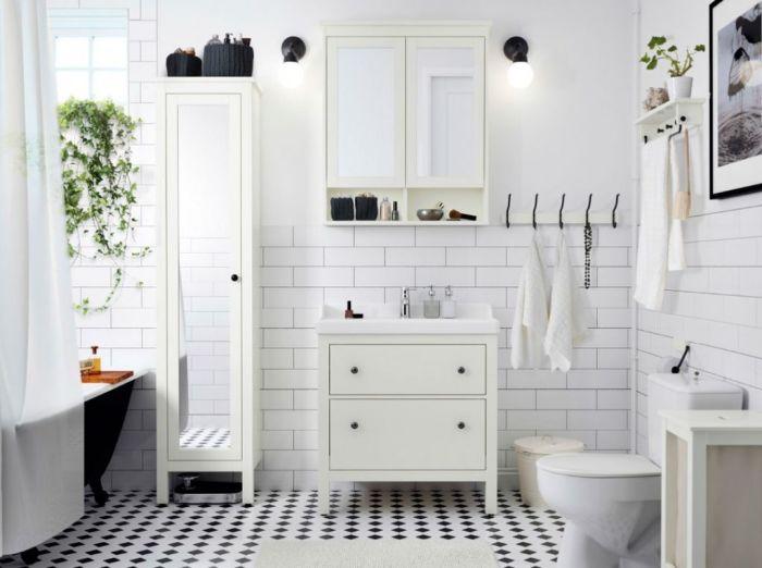 Идеи декора для ванной комнаты. \ Фото: bezkovrov.com.