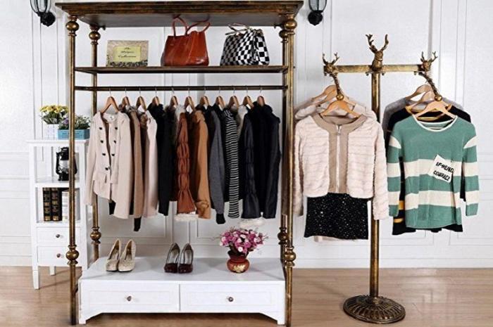 Вешалки для одежды. \ Фото: houser.su.
