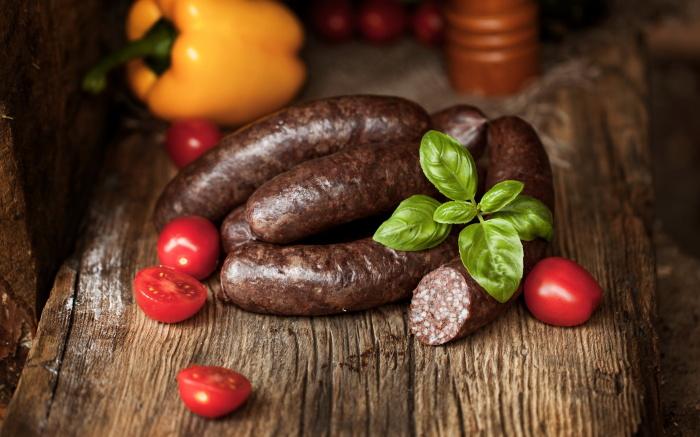 Домашняя колбаса из гречки. \ Фото: bizhizu.cn.
