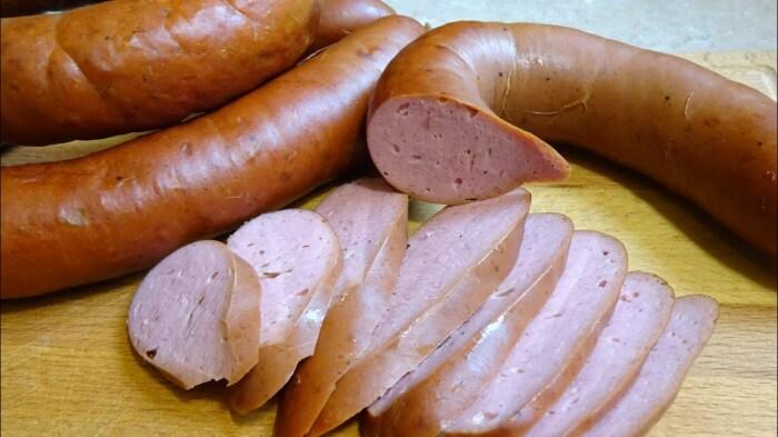 Сливочная домашняя колбаса. \ Фото: google.com.