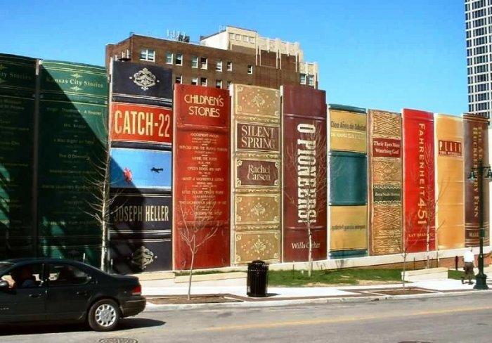 Библиотека в Канзас-Сити.
