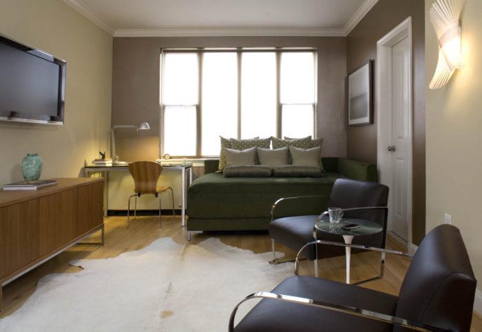 Современные идеи дизайна маленькой квартиры.