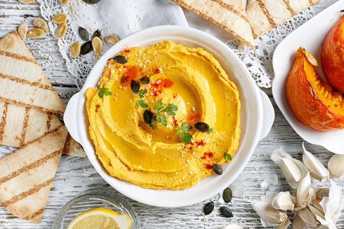 Хумус из тыквы. \ Фото: sobors.hu.