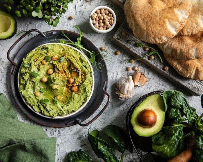 Хумус из шпината. \ Фото: google.com.