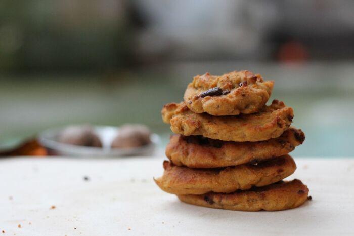 Печенье из хурмы. \ Фото: pinterest.ca.