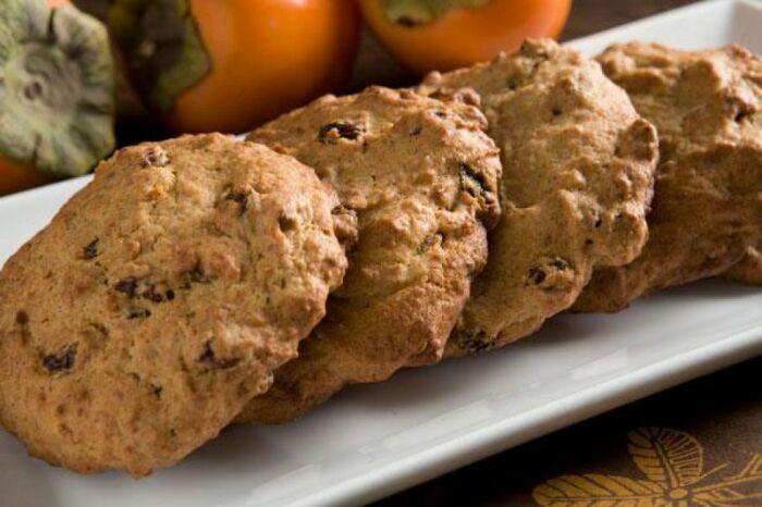 Домашнее печенье с хурмой. \ Фото: google.com.ua.