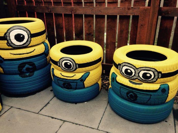 Чтобы на дачном участке всегда было чисто. \ Фото: br.pinterest.com.