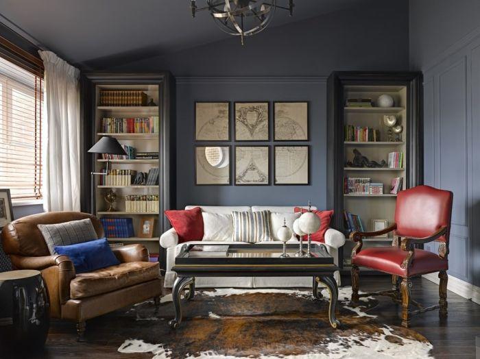 Классический американский стиль. \ Фото: design-homes.ru.