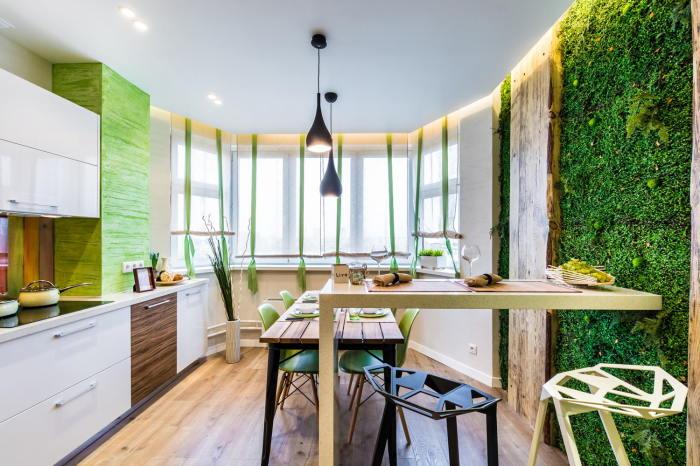 Эко стиль. \ Фото: design-homes.ru.