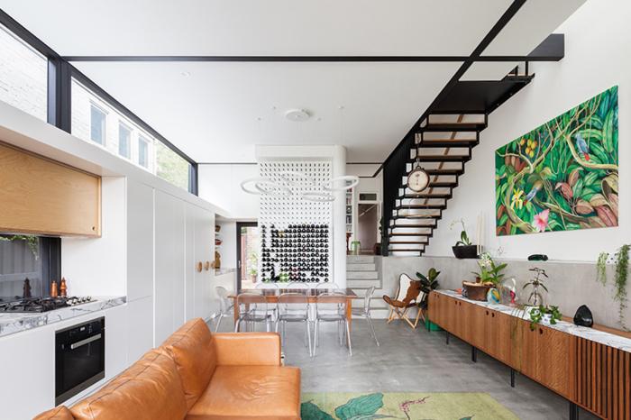 Современный стиль в интерьере. \ Фото: daybukharchitects.com.au.