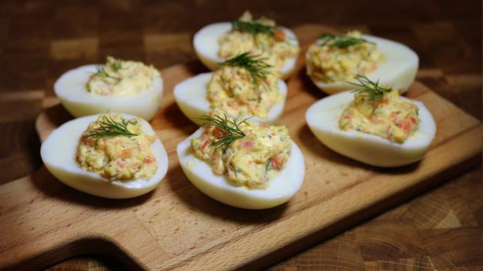 Фаршированные яйца. \ Фото: google.com.ua.