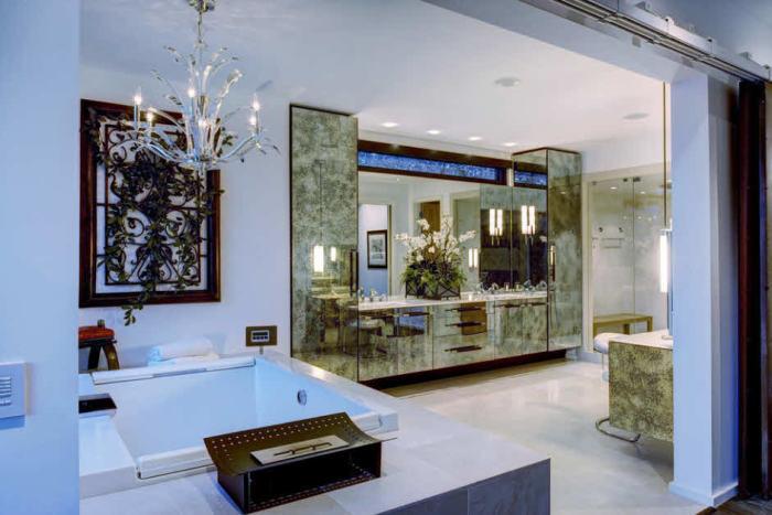 Оригинальные идеи оформления ванной комнаты.