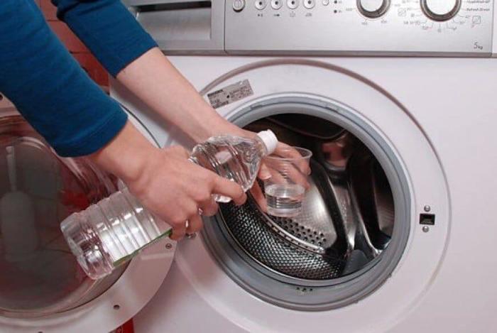 Чистка стиральной машины уксусом и содой от накипи, ржавчины и плесени с барабана и ТЭНа.