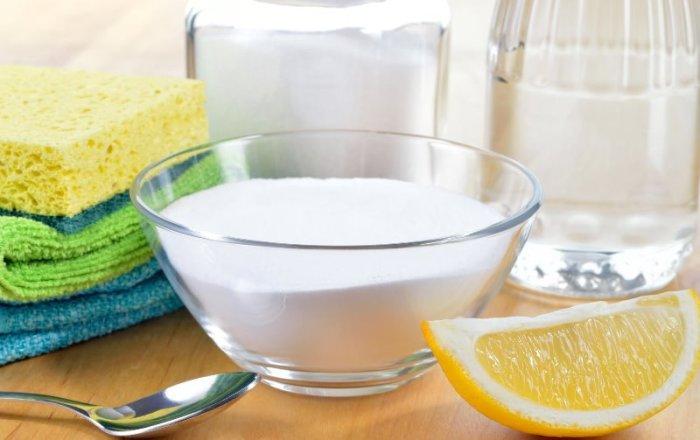 Чистка стиральной машины лимонной кислотой.