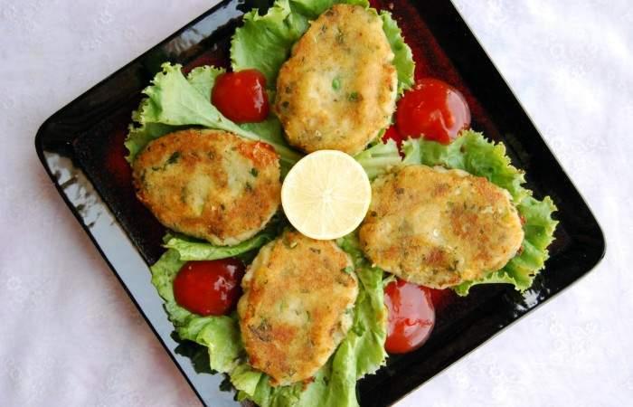 Картофельные котлеты с фасолью. \ Фото: wowfood.club.