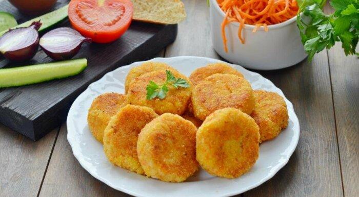 Картофельные котлеты с языком. \ Фото: facebook.com.