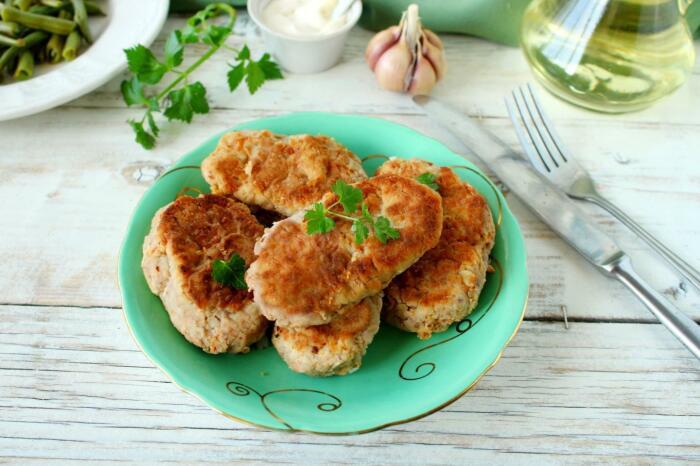 Картофельные котлеты с ливером. \ Фото: pinterest.co.uk.