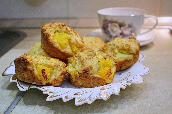 Творожные с апельсиновой цедрой. \ Фото: google.com.
