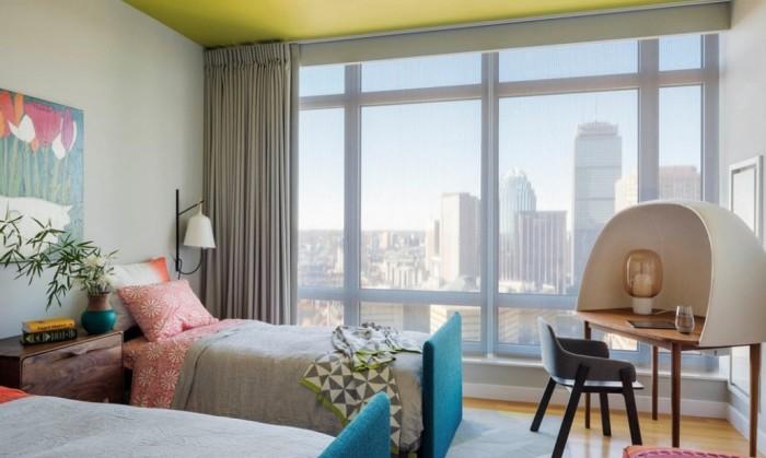 Спальня в стиле модерн.