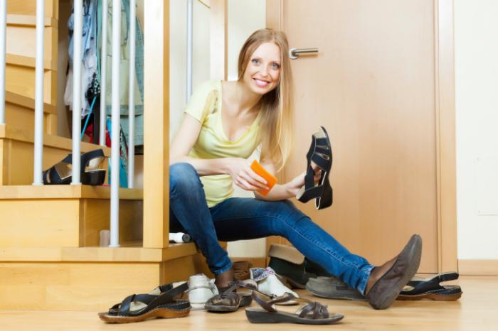 Не забудьте привести обувь в порядок. \ Фото: inosmi.info.