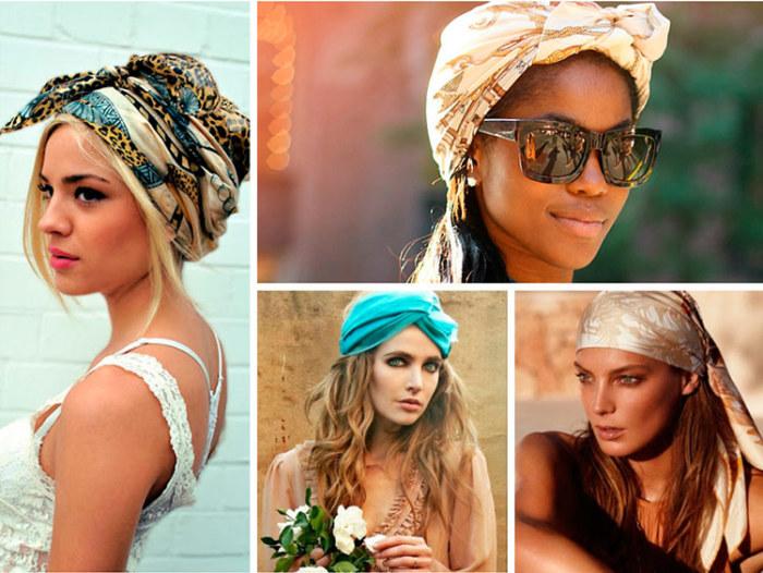 Используйте модные головные уборы. \ Фото: second.net.ua.