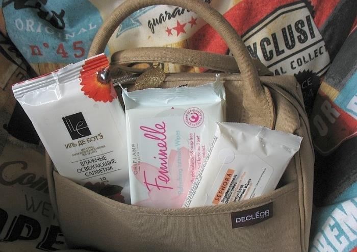 Влажные полотенца и салфетки для тела. \ Фото: kosmetista.ru.