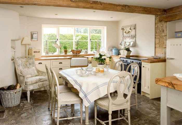 Практически вся кухня может быть выполнена из дерева.